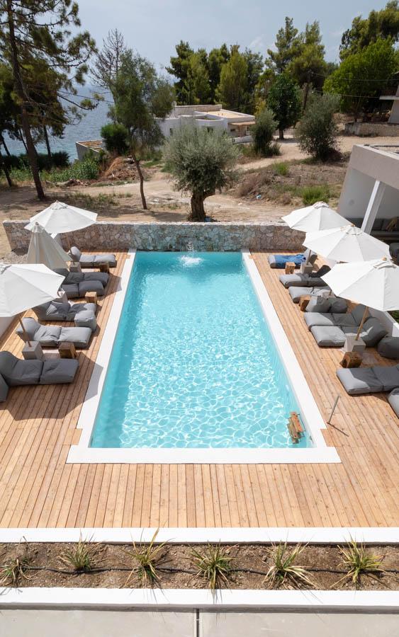 05 poolviewfrofirstfloor - OIK5.12 Arion Seaside Suites