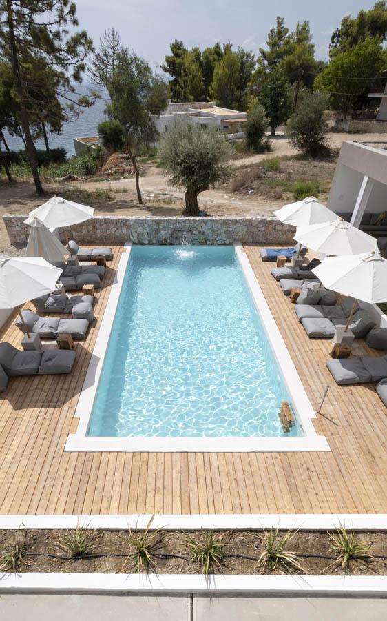 04 poolviewfrofirstfloor scaled 1 - OIK5.12 Arion Seaside Suites