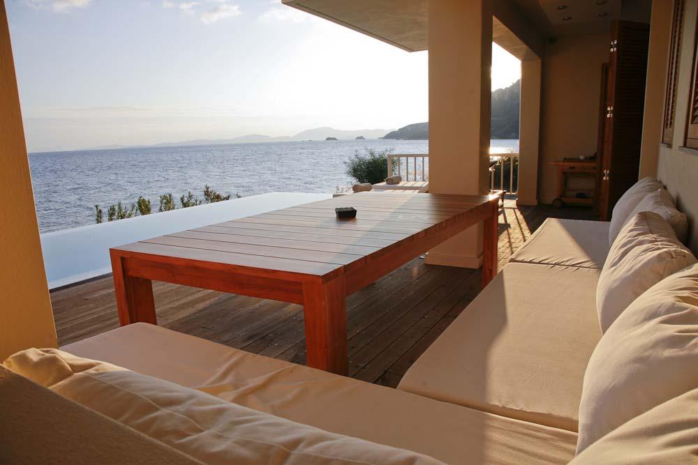 60 Infinity blue villa madouri pogonia ionian sea view - OIK1K1 Villa Madouri