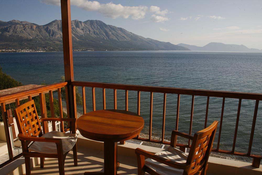 71 madouri paleros luxury villa rental 1st floor master bedroom - OIK1K1 Villa Madouri