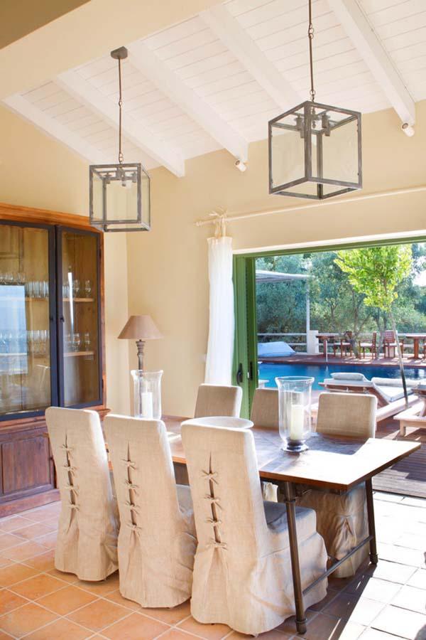 INTERIORS DINING ROOM - OIK26 Villa Amalia