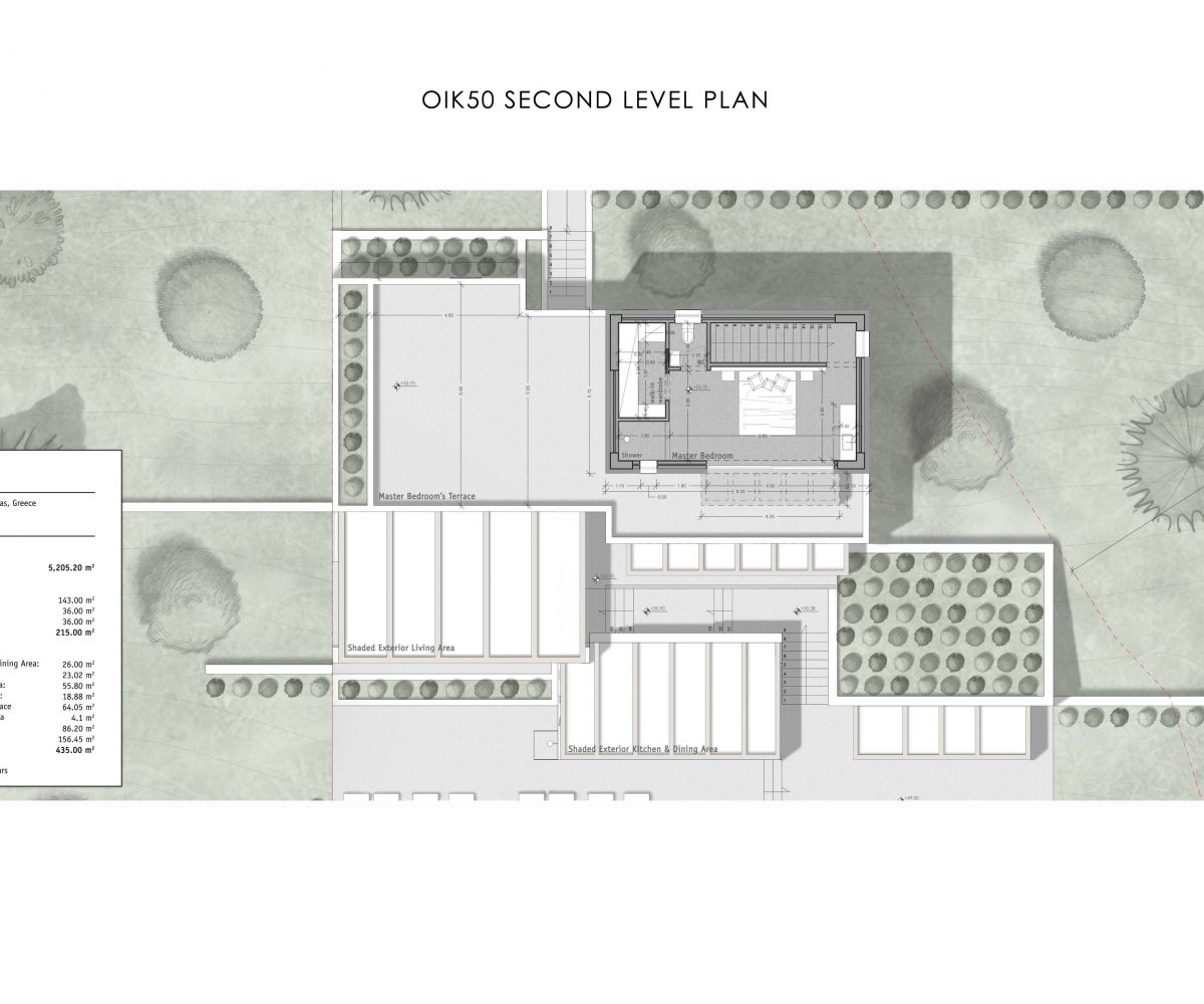 OIK50 SECOND LEVEL PLAN 1200x1000 - Villa Ilpeko