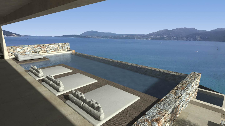 OIK71 SEA VIEW - Villa indigo Nikiana