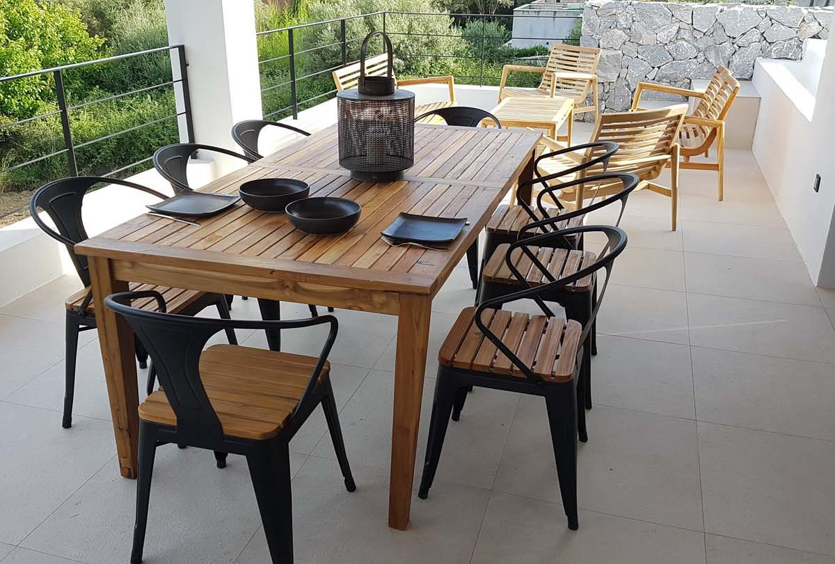 OUTDOOR DINING AREA 4 1200x810 - OIK59.1 Villa Mytikas