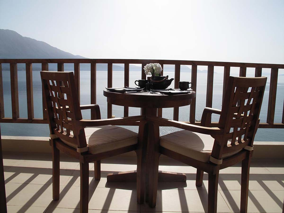 luxury villa scorpios balcony breathtaking view ionian sea 1200x900 - OIK1K3 Villa Scorpios